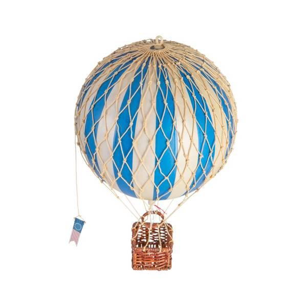 Luftballong medium Travel Light blå